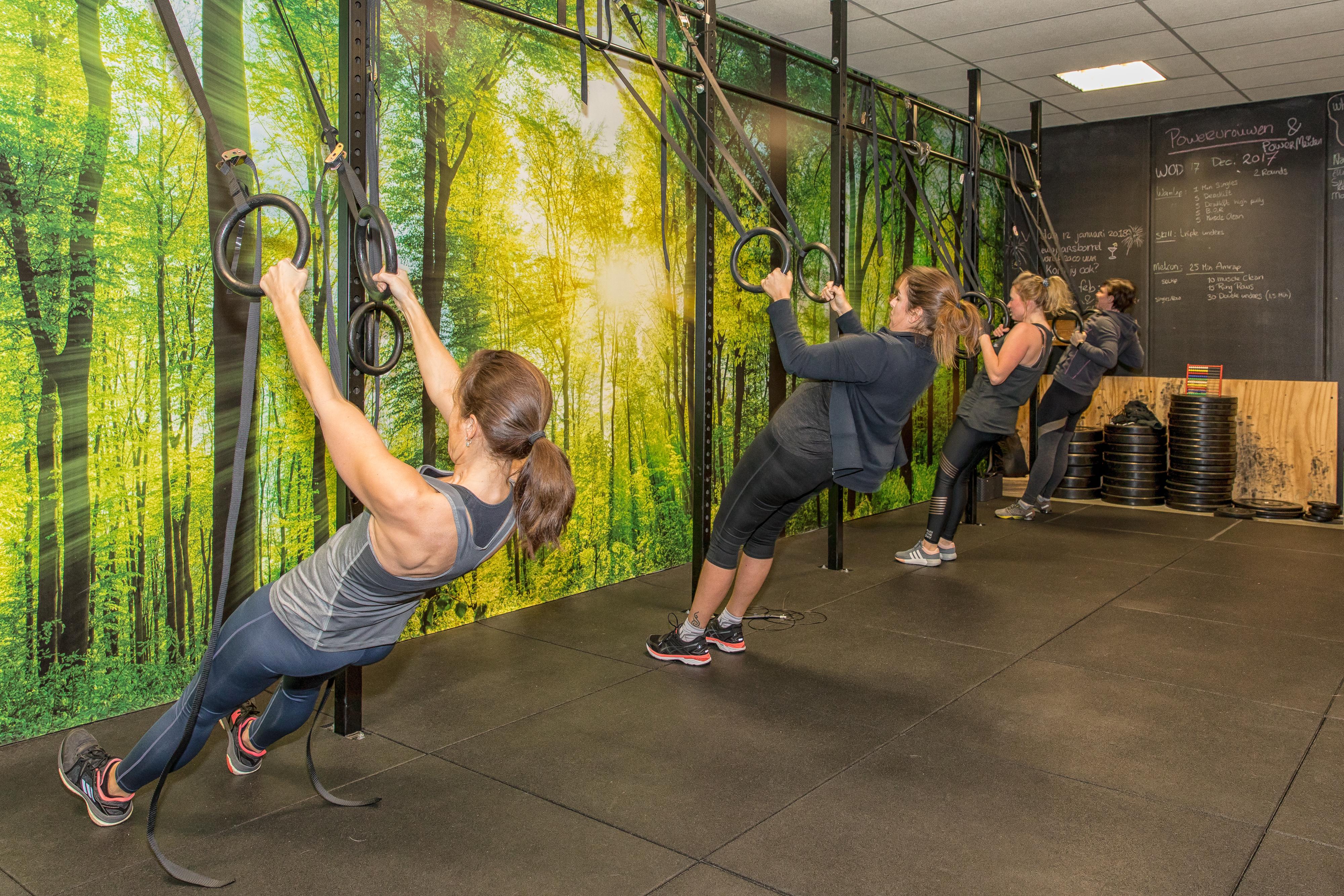 powervrouwen no excuses hilversum speciaal voor vrouwen betere afvallen voeding sporten fun